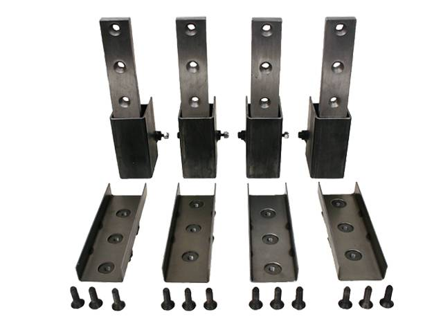 LRD Suicide Door Hinge Kit Only 2 door kit includes 4 hinges & hardware Heavy Duty