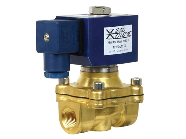 "GC250 Xtreme 3/4"" x 3/4"" orifice Fast Electric Valve & Din connector"
