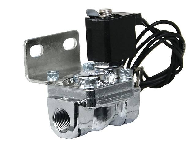 "24410 3/8"" Chrome air valve 3/8"" orifice, 300 psi, 2.8cv"