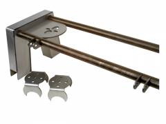 "LRD-Basic Bridge kit 1 10"" Step Notch (8 pieces) 2 Axle brackets 2 Upper bag brackets 2 Bridge bars Shock tabs 3"" Axle"