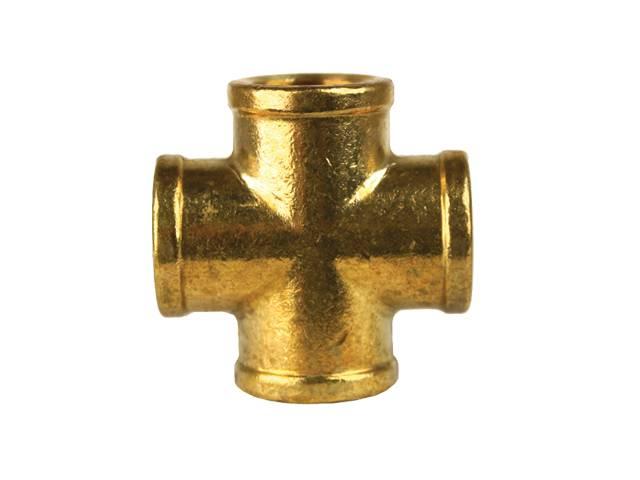 """PKR Female 1/2"""" Pipe Cross WO102-8-8"""