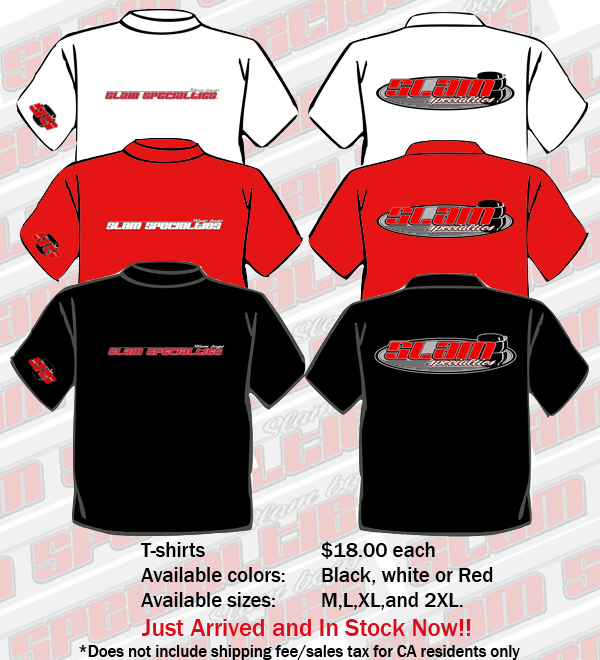 SLM T-Shirts Red Medium