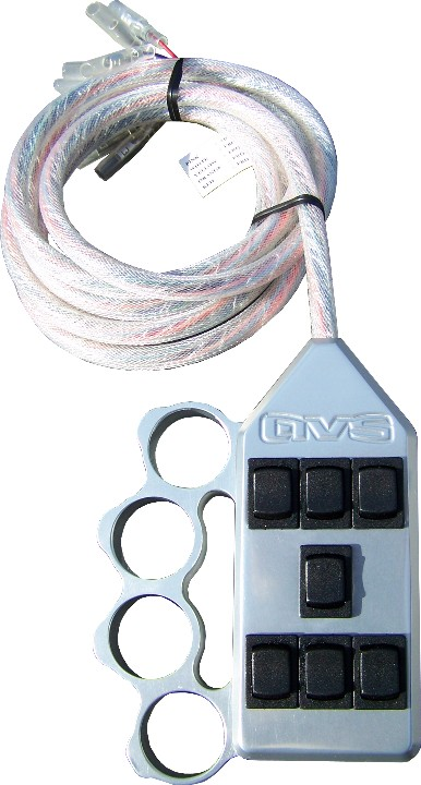 "AVSARC-7-KN-UP Knucke Up 7 switch box rocker switch 4""x2""x1"""