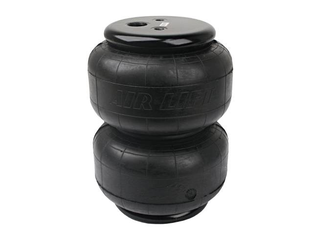 "Airlift Dominator D2600 Single 1/2"" Port Air Bag, 600psi, 2600 lb, Compressed: 2.8"" Extended: 12.5"" Diameter:Max 8"" AIR=58616"