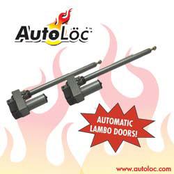 AUTOLOC UDSTDR 130 DEGREE SLIMLINE AUTOMATIC UPRIGHT/LAMBO/VERTICAL DOOR SYSTEM W/ 2 REMOTES