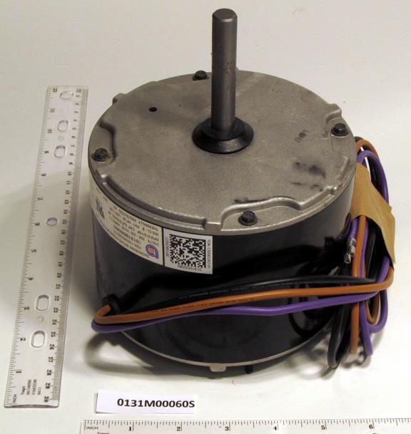 In stock goodman 0131m00060sp condenser fan motor 1 6 hp for Fan motor for goodman ac unit
