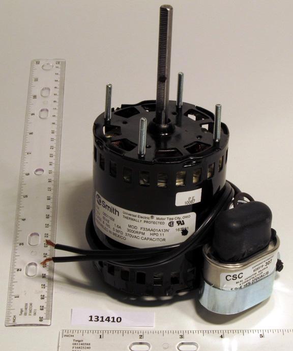 In Stock Reznor 163891 120v Venter Motor Subassy Replaces