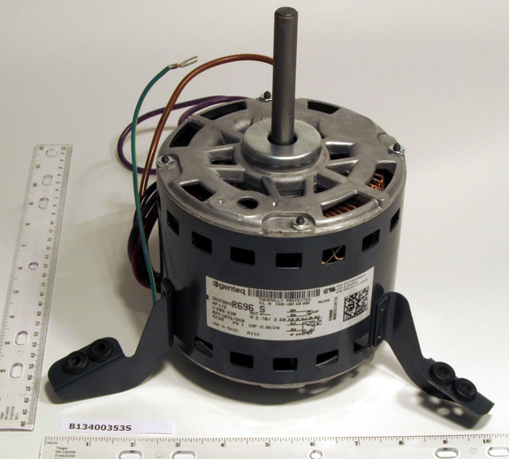 In stock goodman b13400353s 208 230v 1 2 hp 1075 rpm for 2 hp blower motor