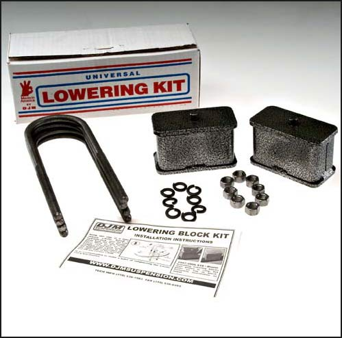 DJMSB2400-3 Colorado 3 Steel Lowering Block Kit
