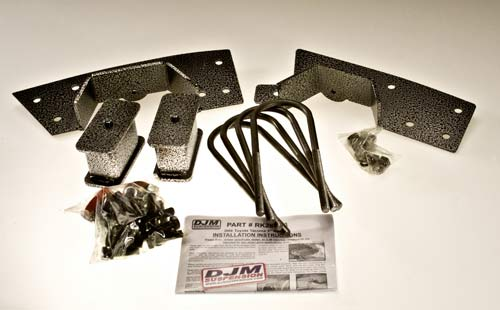 DJMRK2806-4 2005-08 Toyota Tacoma Rear Kit