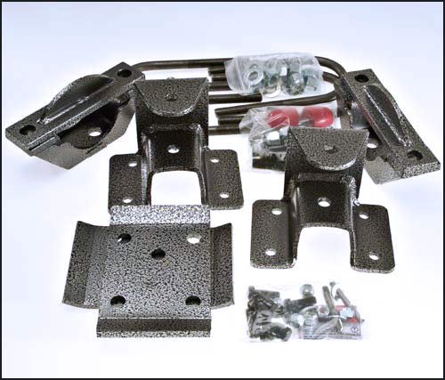 DJMRK2507-6 2007 Silverado Rear Hardware Kit