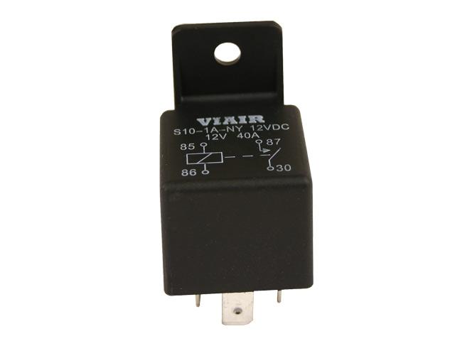 VIA93940 12V-40 Amp Relay No Mounting Tab