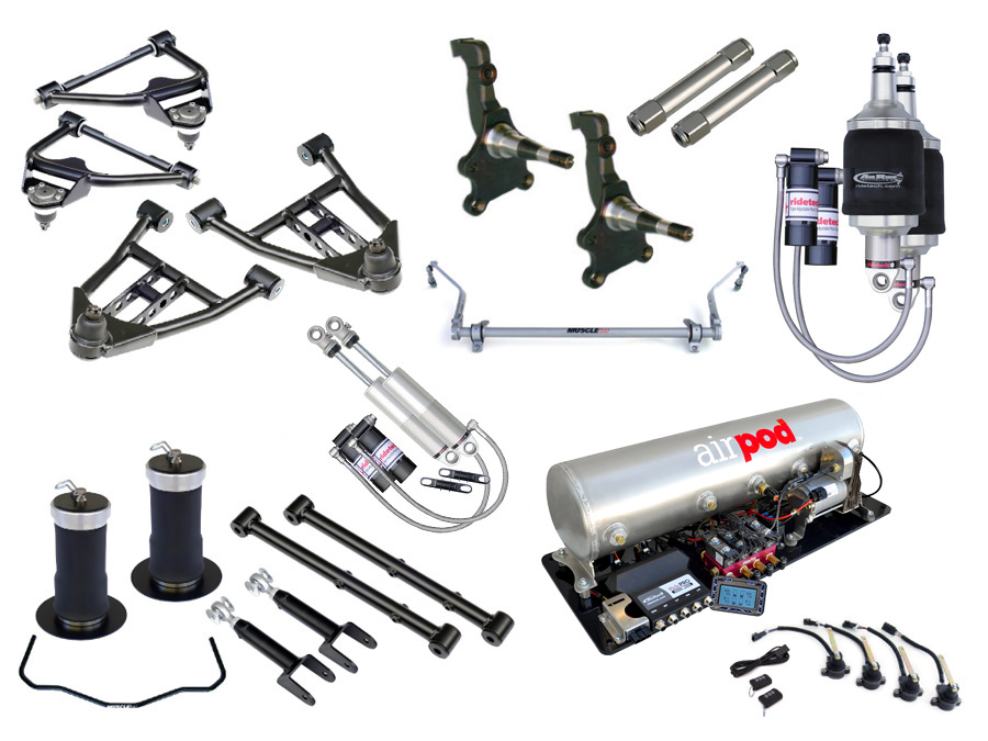 ART11240399 Level 3 Complete System for 1968-1972 GM A Body STR-2001