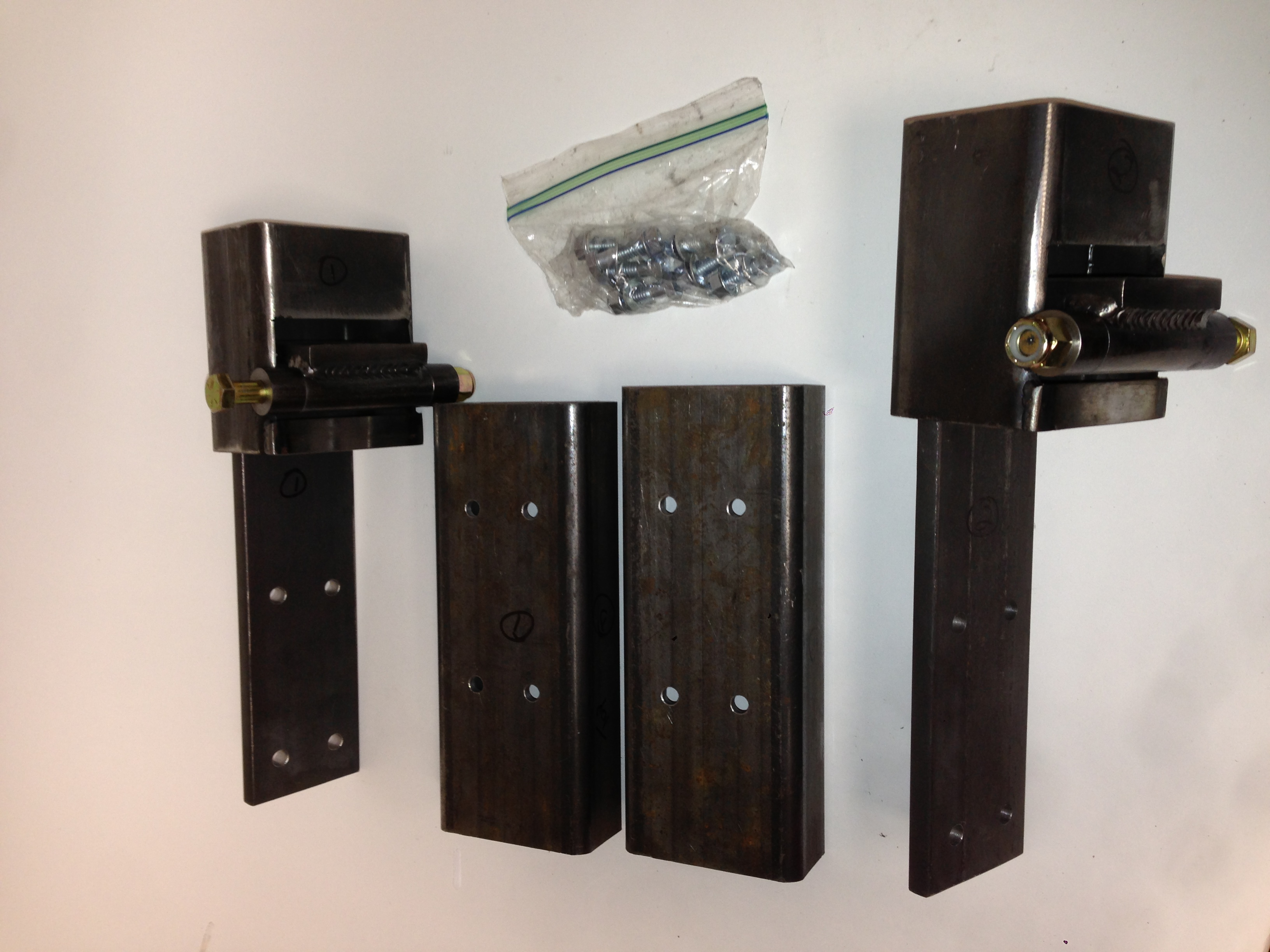 LRD Single Hinge Only Suicide Door Kit 2 door kit includes 2 hinges & hardware Heavy Duty