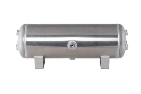 """Air-Zenith 5 Gallon Aluminum Air Tank (6) 1/2"""" Ports & (3) 1/4"""" Ports 25""""L x 8""""W x 10""""H"""