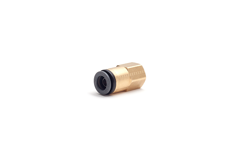 "SMCKV2F11-36 Female Connector 3/8""fnpt x 3/8""ptc"