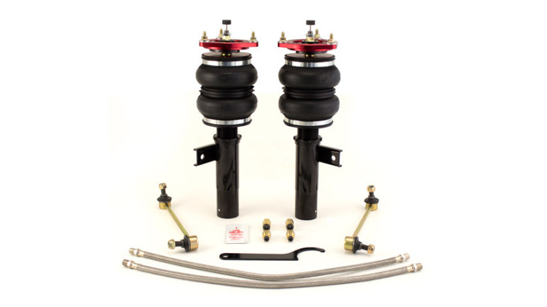AIR-75576 MKV-MKVI Platform: 05-13 Audi A3, 07-13 Audi MKII TT & TT RS Quattro AWD (55mm front struts only), 06-13 VW Golf, 06-13 VW GTI, 05-13 VW Jetta, 06-13 VW Rabbit, 06-13 VW Passat, 09-13 VW CC, 07-13 VW Eos, Front Performance threaded body struts