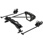 KPC 4LB0-R11 KP Components 83'- 05' Ford Ranger Bolt On 4 Link (Includes: Frame Brackets and 4 Link Bars) ** No Watts Link/Pan Hard Bar