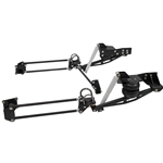 "KPC 4CB0-C31 KP Components 63'- 72' Chevy C10 4 Link Cantilever Setup (Includes: Frame/Axle Brackets, 4 Link Cantilever Bars, End Links, Pan Hard Bar Base, Shocks, and Hardware) ***Specify Wheel Size For Dog Bones 18"" 20"" 22"" 24"""