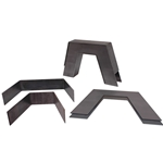 KPC SNWI-U01 KP Components 73' - 98' C1500 / 82'- 03' S10/ 97'- 03'F150 Straight Step Notch (Fits Most Straight Framed Trucks) ** Weld In