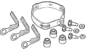 Carrier P251-0074 MOTOR MOUNT KIT