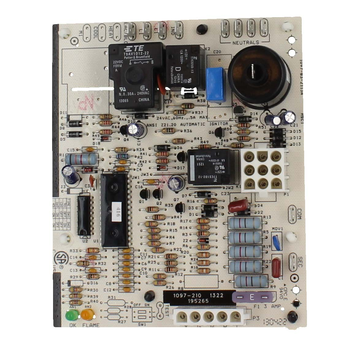 In Stock Reznor 195265 Direct Spark Integrated Control Board