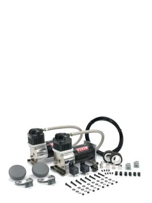 "VIA280C ""Dual Pack"" (2) 280C 200psi ""Silver & Black"" Compressors (2) Relays (1) 150 psi pressure switch 28002"