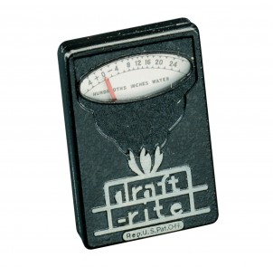 Bacharach 13-3001 POCKET DRAFT GAUGE(0.25) INCLUDES DRAFT RITE TUBE