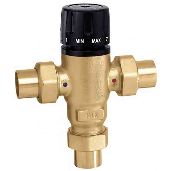 Caleffi 521409AC MixCal 3-way Thermostatic Mixing Valve 1/2