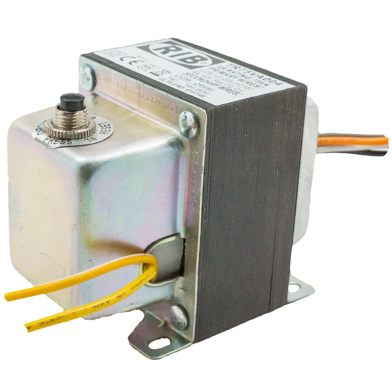 Rib relays rib relays tr75va004 transformer 75va 120208240480 24v publicscrutiny Images