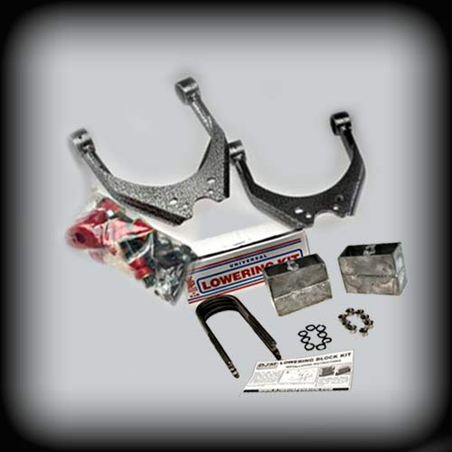DJM2895-3/4 Complete 3/4 lowering kit for your Tacoma, including aluminum blocks
