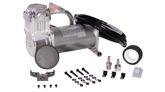 Viair 380C PEWTER Compressor, 100% Duty @ 100psi 55% Duty @ 200psi VIA380c