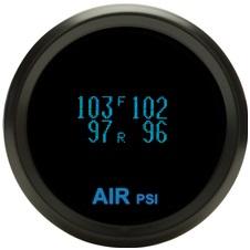 DAKODYR-19-7-5-K ODYR-19-7-K + 5 SEN-03-9 Teal Display Black Bezel 5 Senders Round Display