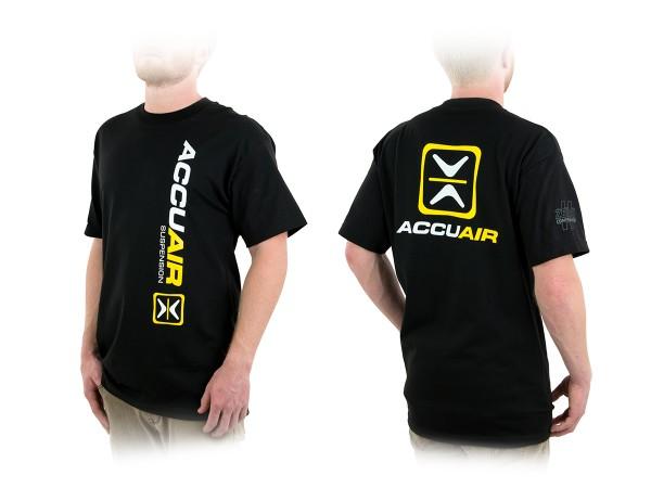"""ACCUAIR AA-TEE-BLK-OG 2XL AccuAir """"O.G."""" Design Black T-Shirt 2XL"""