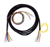 AVS-VWH-10-UNI-WIRES Universal to Stripped Wires Switch Box Wire 10ft