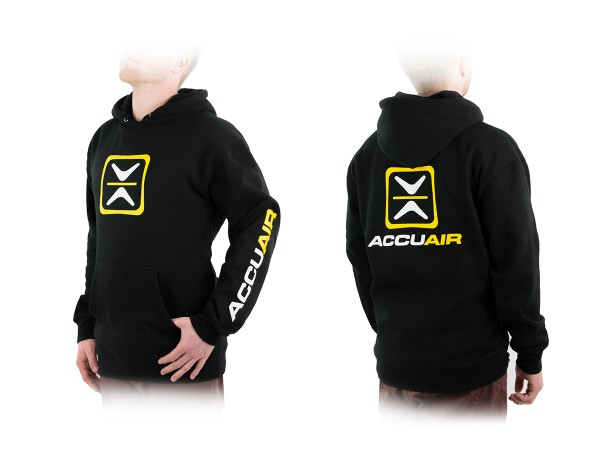 "ACCUAIR AA-CREW-BLK-OG S AccuAir ""O.G."" Design Black Crew Sweatshirt S"