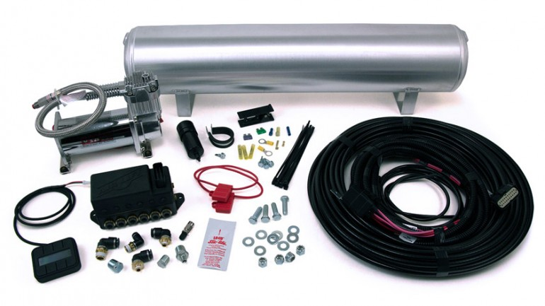 AIR-27669 Airlift Auto Pilot V2 Digital Air Management, (1) 4gallon Aluminum Tank, (1) Viair 444C Compressor