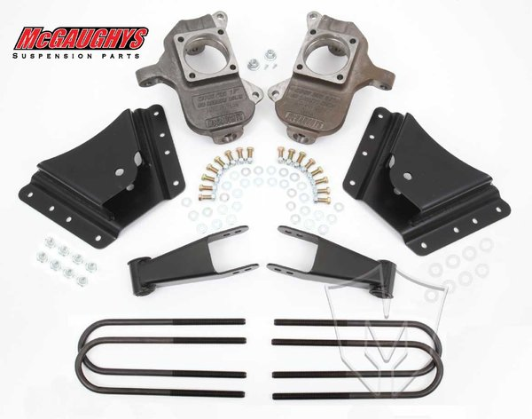 "MCG33075 2""/4"" or 2""/5"" Deluxe Kit for 2002-2008 GM Truck 3500 Dually - 10 Hole Factory Hanger"