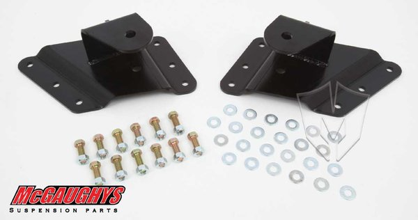 MCG33086 Lowering Hangers for 1999-2000 GM 2500, 2001-2003 GM 1500HD, 2004 GM 2500 (2WD/4WD)