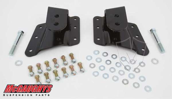 MCG33087 Lowering Hangers for 1999-2000 GM 2500, 2001-2003 GM 1500HD, 2004 GM 2500 (2WD/4WD)