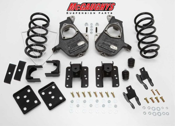 """MCG34015 4""""/6"""" Deluxe Kit for 2007-2013 GM Truck 1500 (2WD, QUAD)"""