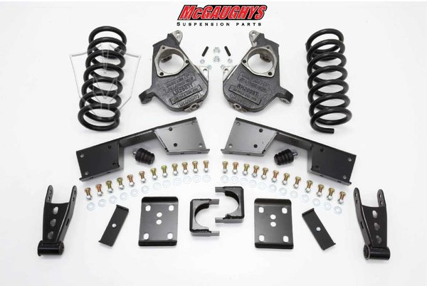"""MCG93017 4""""/6"""" Deluxe Kit for 2001-2006 GM Truck 1500 (2WD, X/QUAD)"""