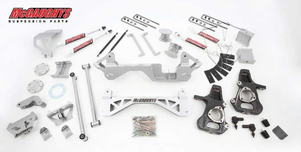 "MCG50000 7"" Premium Lift Kit for 1999-2006 GM Truck 1500 (4WD) (Silver Powdercoated)"
