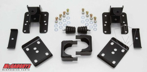 """MCG93047 4"""" or 5"""" Rear Lowering Kit for 2001-2006 GM Truck 1500 (2WD/4WD)"""