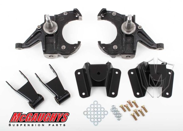 """MCG93130 2.5""""/4"""" Deluxe Kit for 1973-1987 GM C-10 Truck (2WD)"""