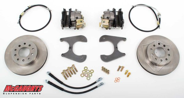 "MCG64095 11"" Big Brake Rear Kit for 55-64 GM Fullsize Car Rear End 5 x 4.75 Must use 17""+ rims"
