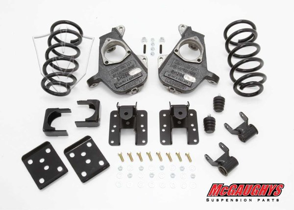 """MCG34036 4""""/6"""" Deluxe Kit for 2007-2013 GM Truck 1500 (2WD, S-CAB)"""