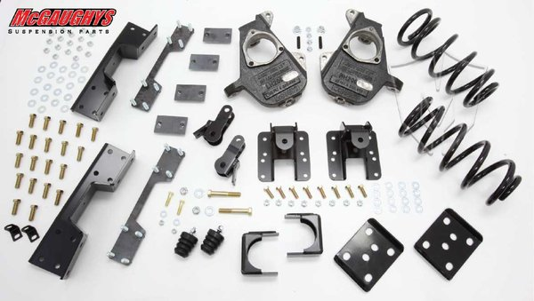 """MCG34007 3""""/5"""" Deluxe Kit for 2007-2013 GM Truck 1500 (2WD, X/QUAD)"""