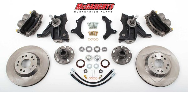 "MCG63153 13"" Big Brake Kit 71-72 C10 13"" Front Disc Kit w/ 2.5"" spindles (5 on 5) **must use 17""+ rims**"