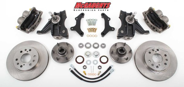 "MCG63310 6 LUG 13"" Front Big Brake Kit for 63-70 C10 w/. 2.5"" drop spindles."